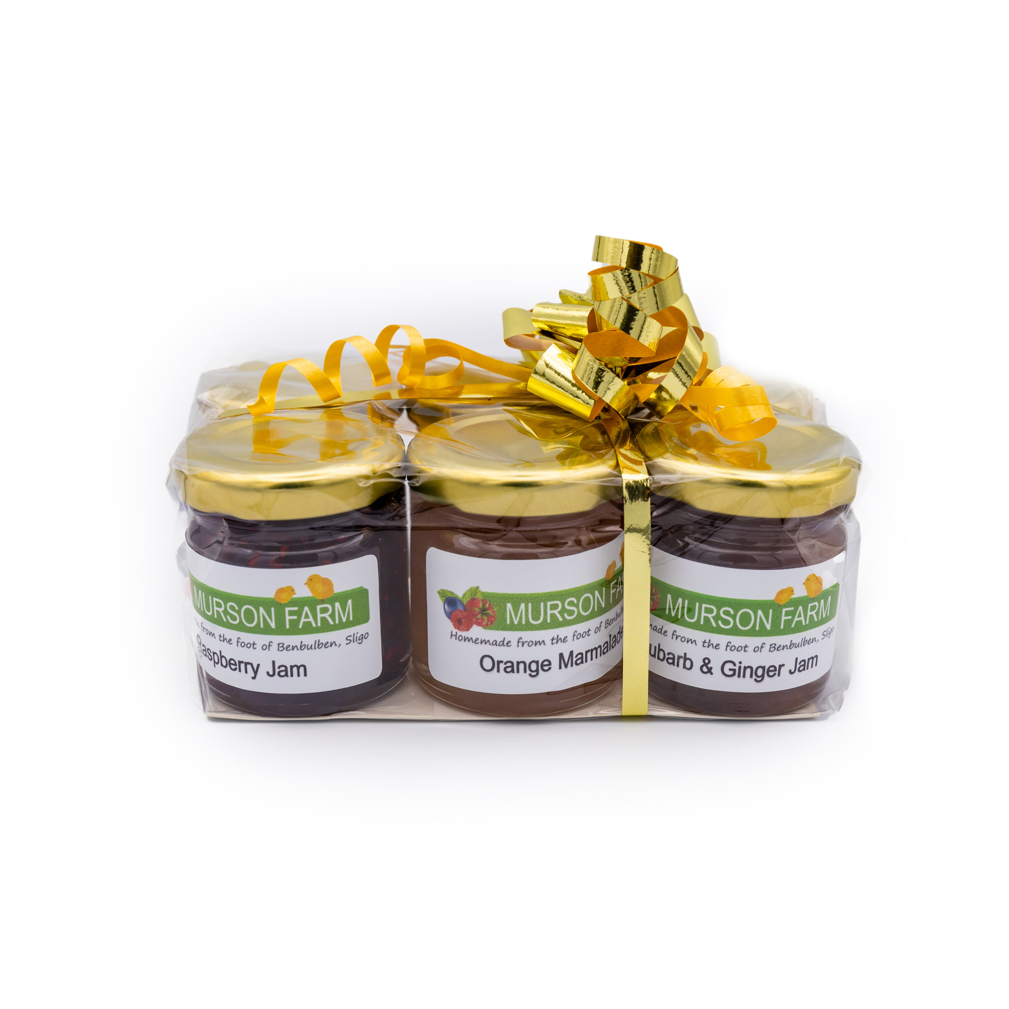 Six Pack of Assorted Jams and Marmalade